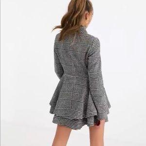 Jackets & Blazers - Plaid Swing Skater Coat